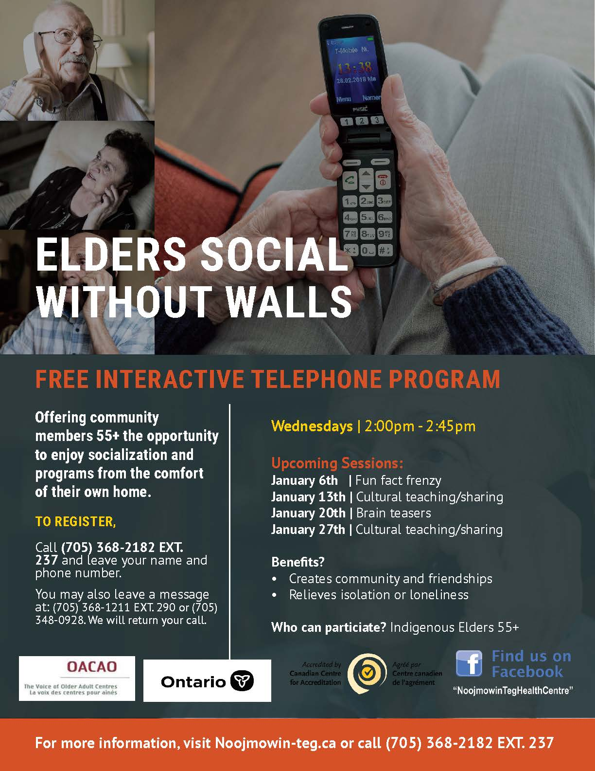 Elders Social Without Walls January